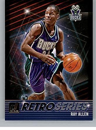 2018-19 Donruss Retro Series Basketball Card  9 Ray Allen Milwaukee Bucks  Official NBA 4bd40fecb
