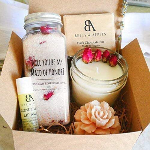 Amazon.com: Maid Of Honor Gift, MOH Proposal Gifts, Will