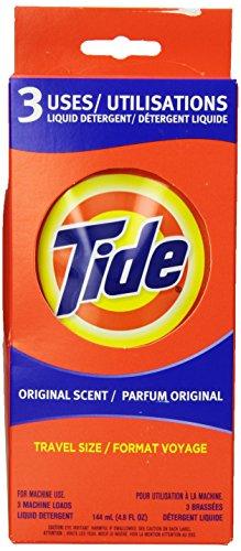 Tide Liquid Detergent Single Loads (3-Count)