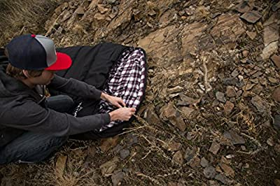 Teton Sports Outfitter XXL Sleeping Bag; Warm and Comfortable Sleeping Bag Great for Fishing, Hunting, and Camping; Great for When it's Cold Outdoors; Storage Duffle Bag Included