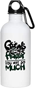 Amazon.com: Cows Make Me Happy You Not Much 20 oz ...