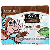 So Delicious Coconut Milk - Chocolate Organic Dairy Free - 6pk - Case Of 3 - 6/8 Fl Oz
