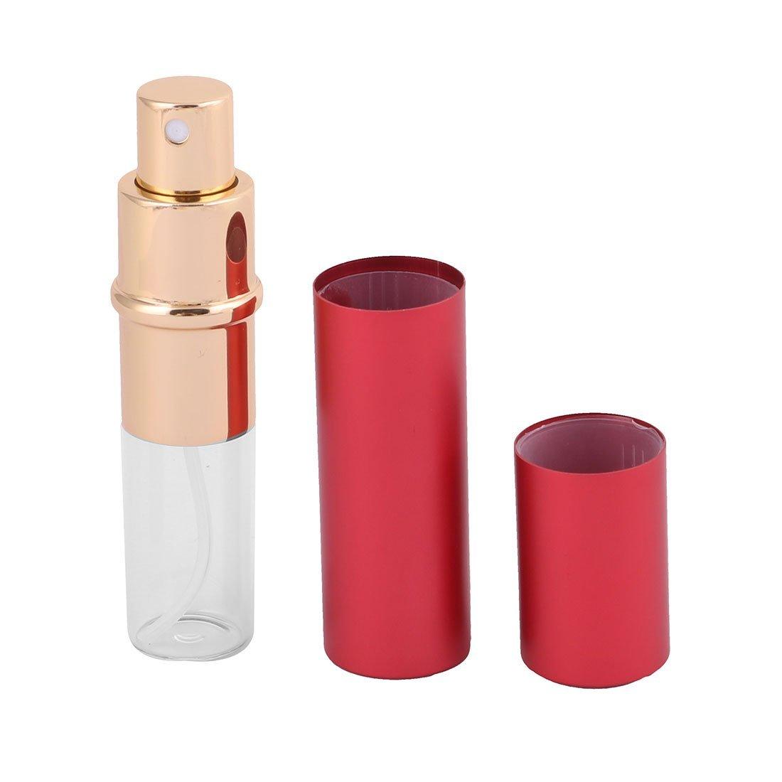 Amazon.com: eDealMax aleación DE 10 ml portátil del lápiz Labial Mini Forma de la Botella del aerosol del atomizador del Perfume Rojo del caso: Health ...