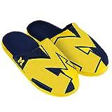 FOCO Michigan Split Color Slide Slipper Extra Large