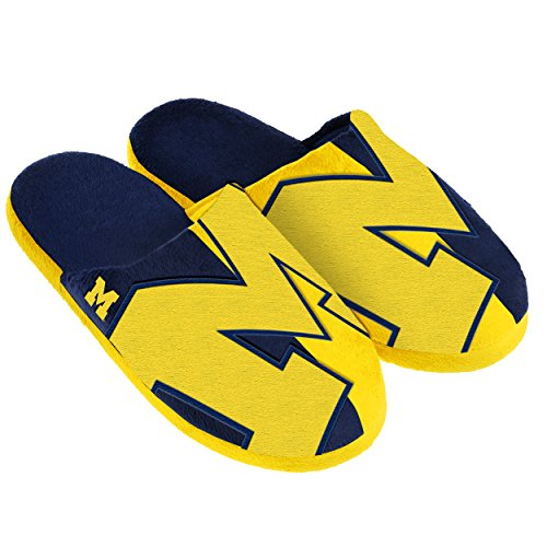Michigan Split Color Slide Slipper Extra ()