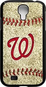 Onelee?? - MLB Team Logo, Washington Nationals Logo Samsung GALAXY S4 Cases (Black) - Washington Nationals 3