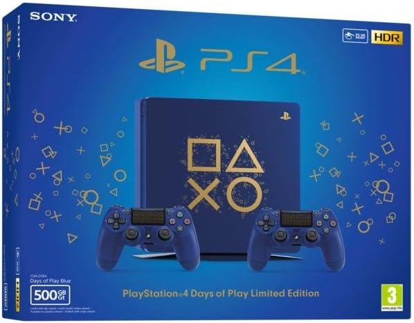 PS4 500 Go Edition Limitée Days of Play + 2ème Manette Edition ...