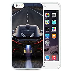 NEW Unique Custom Designed iPhone 6 Plus 5.5 Inch Phone Case With McLaren P1 Back Race_White Phone Case wangjiang maoyi