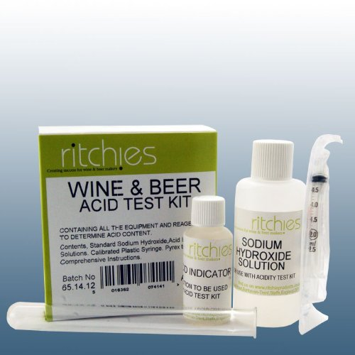 Homebrew & Wine Making - Wine & Beer Acid Test Kit - Titration Kit