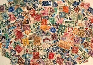 Lot of 50 Pieces Worldwide Collectible Stamp Collection