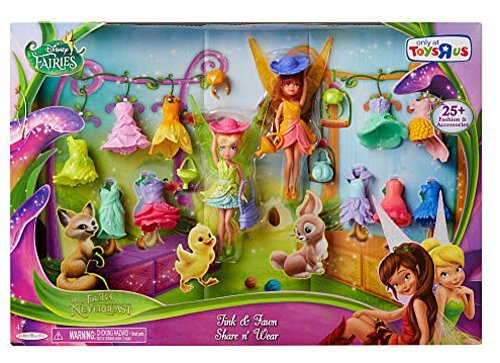 Tinker Bell Toys (Disney Fairies Tink & Fawn Share n' Wear)