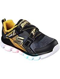Kids Boys Hypno Flash Z Strap Light Up Sneaker