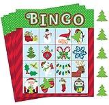 Amscan Festive Christmas Bingo Game Party