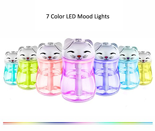 Color You 180ml Personal Cool Mist Humidifier With 7 Color