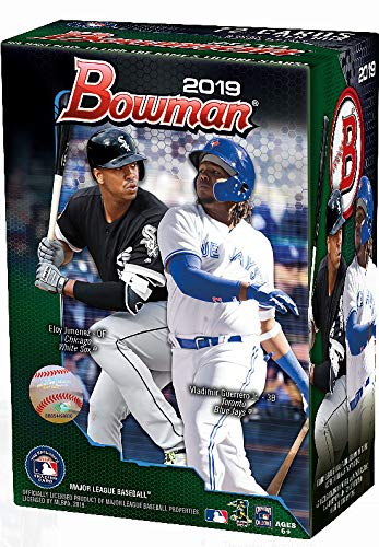 2019 Bowman Baseball Card - 2019 Bowman MLB Baseball BLASTER box (6 pks/bx)