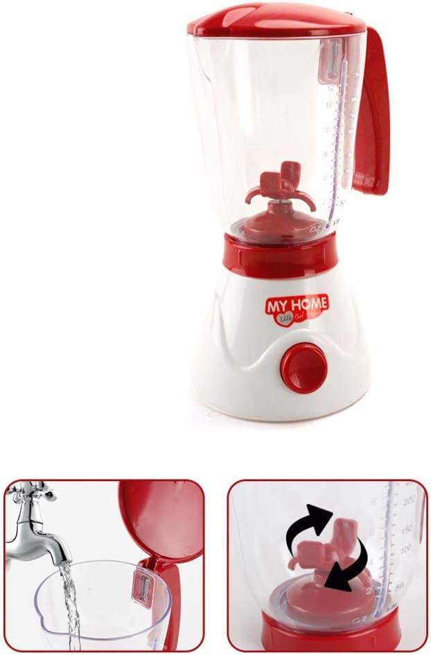 Fliyeong Simulation Pretend Play Electric Juicer Kitchen Appliance Children Home Housework Funny Toys Gifts Durable and Useful