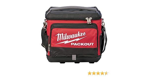 Milwaukee 932471132 PACKOUT Jobsite Enfriador, rojo: Amazon.es: Bricolaje y herramientas