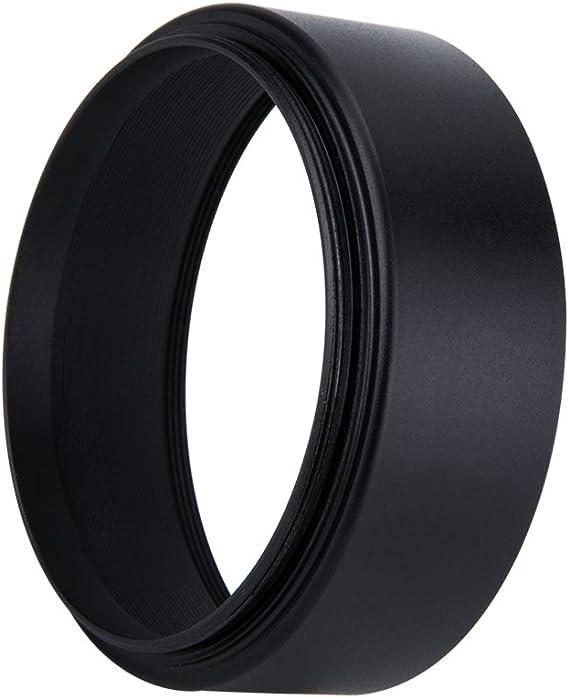 82mm Screw-in Mount Wide Angle Aluminum Metal Lens Hood Shade for Lenses with 82mm Front Filter Thread for Nikon AF-S Nikkor 24-70mm f//2.8E ED VR Lens,Sony FE 24-70mm f//2.8 GM Lens