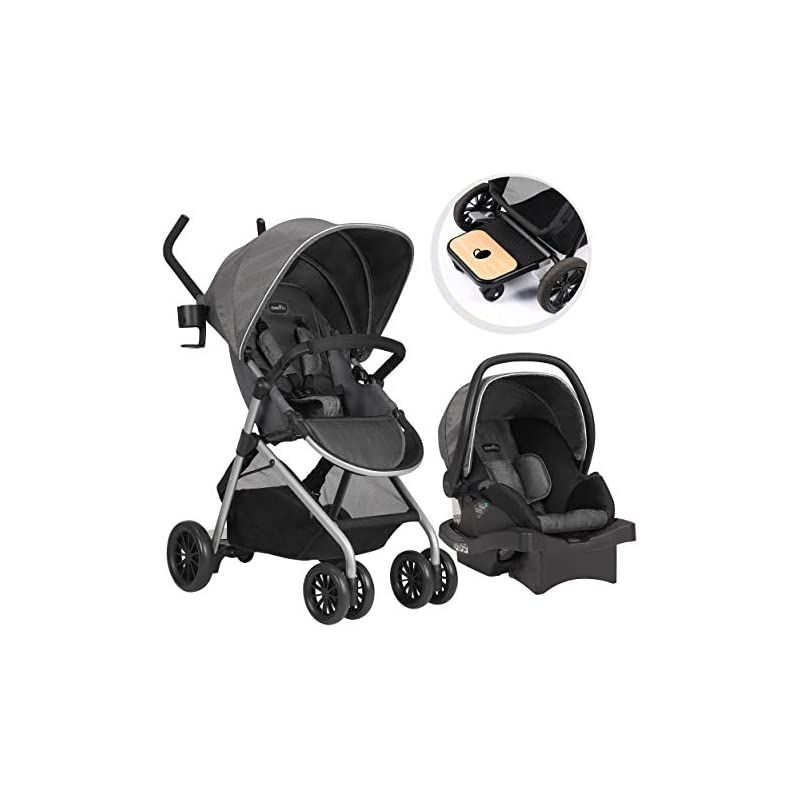 Evenflo Sibby Travel System, Stroller, C
