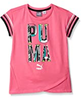 PUMA Girls' Active Girly Tee