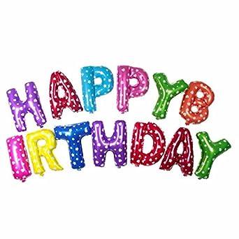 Amazon Happy Birthday お誕生日おめでとう バルーン 風船 文字
