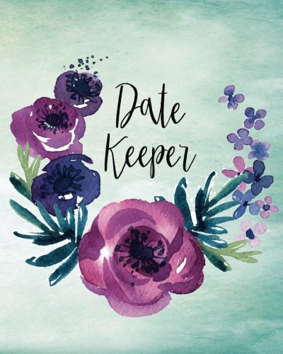 Date Keeper: Important Dates Gift And Card Notebook