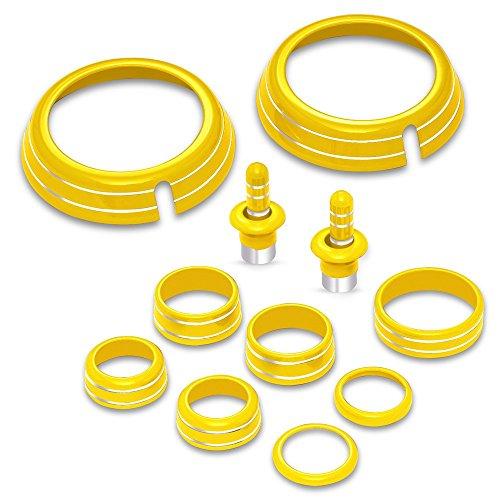 Camaro Interior Billet Factory Color Match Accessories Kit (Bright ()