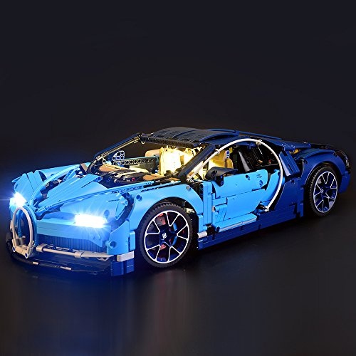 Lightailing Light Set For  Bugatti Chiron  Building Blocks Model   Led Light Kit Compatible With Lego 42083 Not Included The Model