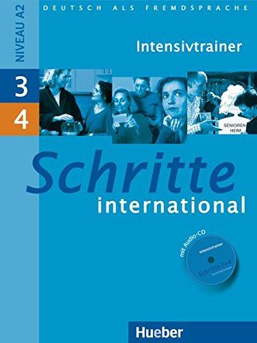 Schritte International 3 & 4: Intensivtrainer MIT Audio-CD