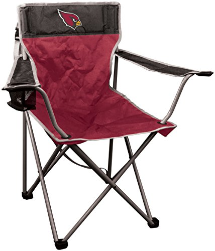 NFL Portable Canvas Folding Kickoff Chair with Cup Holder and Carrying Case