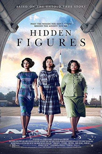 Top 10 best hidden figures movie poster 27×40