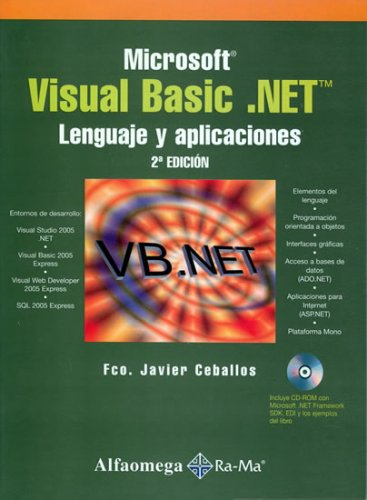 Microsoft Visual Basic .NET - Lenguaje y Aplicaciones 2 ed.(Spanish Edition) by Alfaomega - Ra-ma