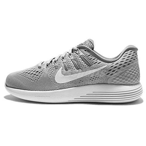 4456d1dfefd5 Nike Women s Lunarglide 8 Wolf Grey White Cool Grey Running Shoe 7.5 Women  US - Buy Online in Oman.