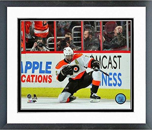 Philadelphia Flyers Photo File (Wayne Simmonds Philadelphia Flyers NHL Action Photo (Size: 12.5