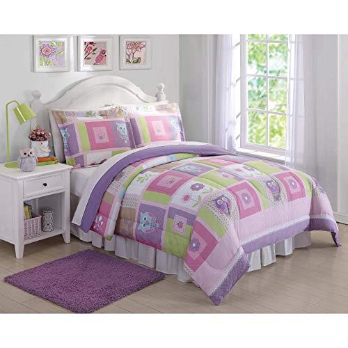My World Comforter Set (Happy Owls, Full/Queen)