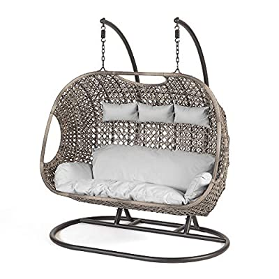 Triple Hanging Egg Chair with Stand