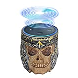 Echo Dot Holder Stand, Umiwe Skull Statue Crafted Guard Station For Alexa Amazon Echo Dot 2nd And 1st generation Speaker, Jam Classic Speaker
