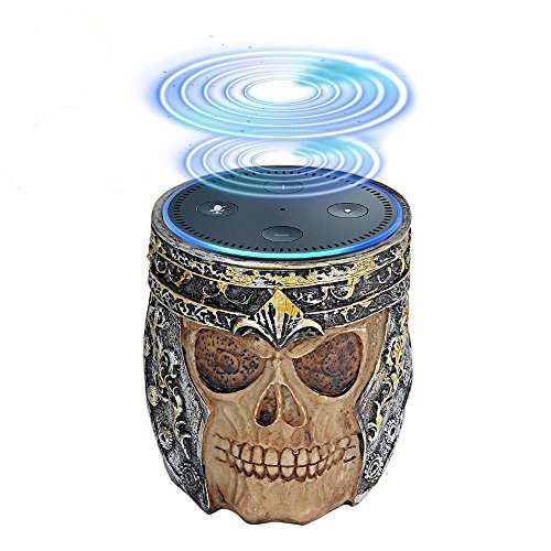 Echo Dot Holder Stand, Umiwe Skull Statue Crafted Guard Station For Alexa Amazon Echo Dot 2nd And 1st generation Speaker, Jam Classic Speaker by Umiwe