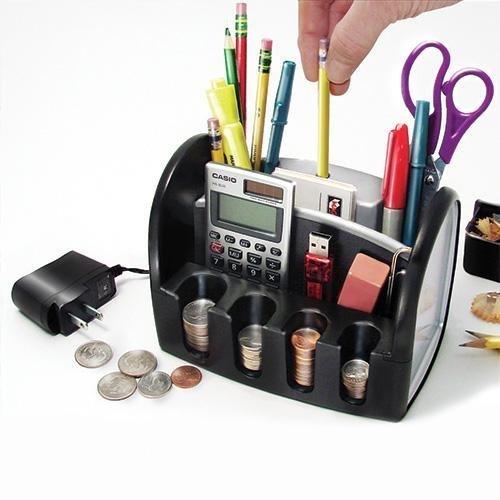 Mag-Nif Desktop Organizer and Pencil Sharpener by Mag-Nif