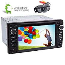 Android Car Stereo For TOYOTA Corolla EX£¨2008-2013£©6.0 Marshmallow Quad-core System in Dash 6.2inch Digital Multi-touchscreen Headunit GPS Navigation Bluetooth CD DVD 1080P Video Player FM AM