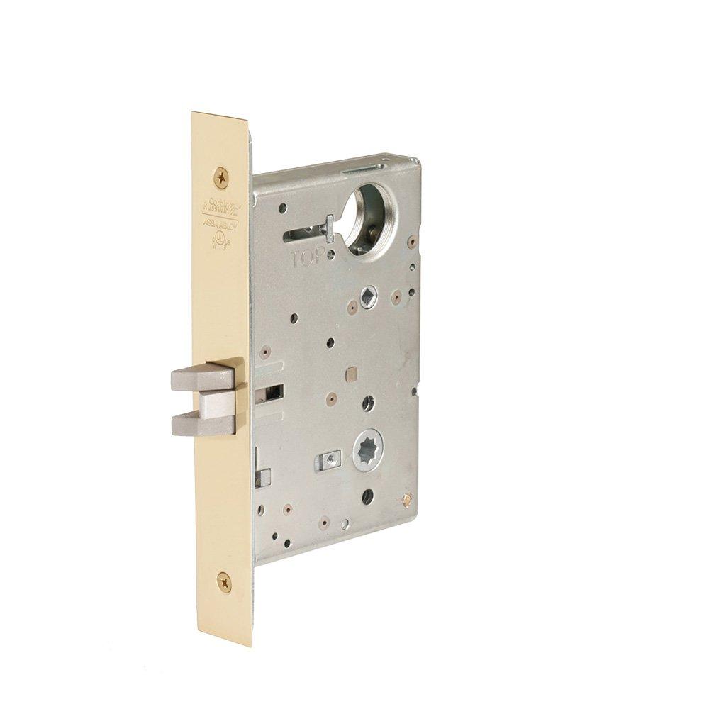 Lever Body Only Steel; Stainless Steel; Brass Corbin Russwin Architectural Hardware CORBINRUSSWIN ML2060-LL-605 605 Bright Polished Brass Privacy//Bed//Bath