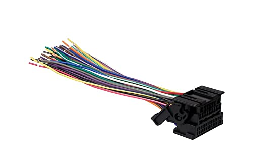 51tGcKXOX4L._SX522_ amazon com metra 71 2106 gm oem wiring harness 44 pin car gm wiring harness connector pins at crackthecode.co