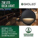 GKOLED Low Voltage LED Deck Lights, Landscape Step