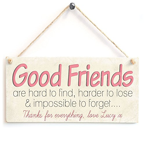 Good Friends Are Hard To Find Wood Sign By meijiafei
