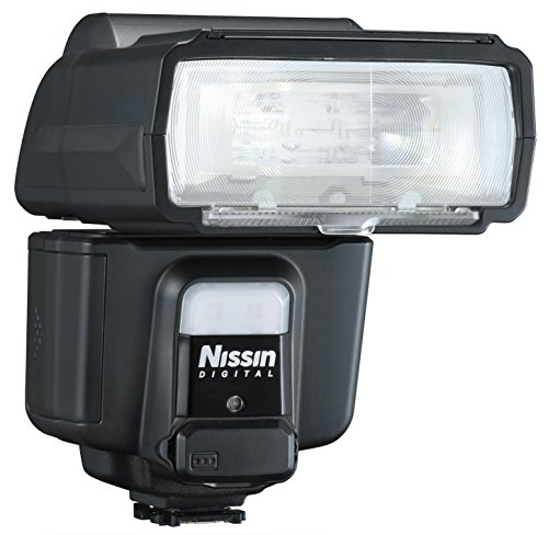 Nissin i60A Air Flash, Wireless 2.4GHz Nissin Air System Receiver for Sony - Includes Nissin USA 2 Year Warranty