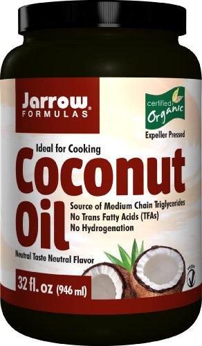 Jarrow Formulas Coconut Oil, Supports Cardiovascular Health, 32 fl. Oz. Expeller Pressed Coconut Oil
