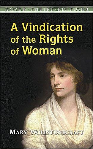 vindication proper rights girls essay