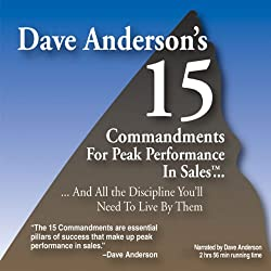 The 15 Commandments for Peak Performance in Sales