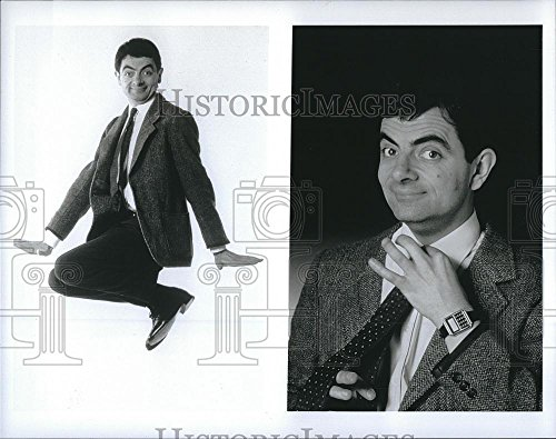 Press Photo Rowan Atkinson Actor in