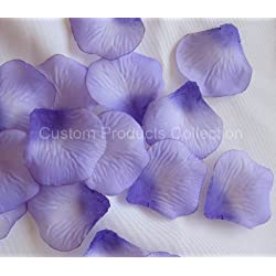 500 Purple Silk Rose Petals Wedding Party Favors